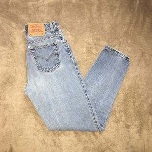 Vintage Levi's 551 high waisted mom jeans